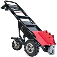 Magliner MHT75CD 3500 lb. Motorized Hand Truck with 13 inch Aggressive Tread Pneumatic Wheels and Trailer Hitch - 36V, 800W
