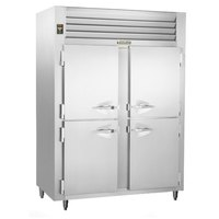 Traulsen RLT232WUT-HHS Stainless Steel 51.6 Cu. Ft. Two-Section Solid Half Door Reach-In Freezer - Specification Line