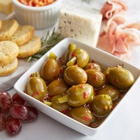 Belosa 12 oz. Sweet & Spicy Pickle Stuffed Queen Olives