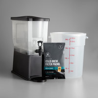 Crown Beverages Deluxe 4 Piece Cold Brew System with Coffee