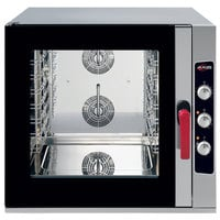 Axis AX-CL06M Full Size 6 Pan Combi Oven with Manual Controls - 208/240V, 3 Phase