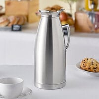 Choice 68 oz. Stainless Steel Thermal Server / Carafe