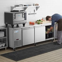 Avantco SS-UD-3R 93 inch Stainless Steel Undercounter Refrigerator