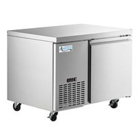 Avantco SS-UD-1R 44 inch Stainless Steel Undercounter Refrigerator