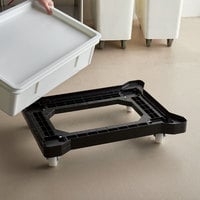Baker's Mark 18 inch x 26 inch Dough Proofing Box Dolly