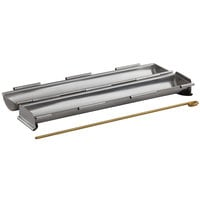 Matfer Bourgeat 341711 11 3/4 inch x 1 3/4 inch Stainless Steel Round Bread Pan