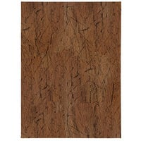 H. Risch, Inc. DRIFTWOOD-2V Driftwood 5 1/2 inch x 8 1/2 inch Customizable 2 View Menu Cover