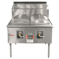 Town CF-1-N Natural Gas One Compartment Cheung Fun Noodle Range - 49,000 BTU