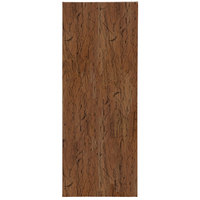 H. Risch, Inc. DRIFTWOOD-3V Driftwood 4 1/4 inch x 11 inch Customizable 3 View Menu Cover