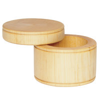 Fletchers' Mill SALTCELL01 3 1/2 inch Maple Wood Salt Cellar