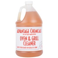Advantage Chemicals 1 Gallon Oven and Grill Cleaner - 4/Case