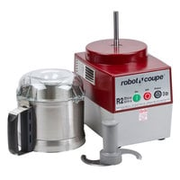 Robot Coupe R2 Dice Ultra Combination Continuous Feed Food Processor / Dicer with 3 Liter Stainless Steel Bowl, 5/32 inch Slicing Disc, and 5/64 inch Grating Disc - 2 hp