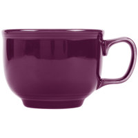 Fiesta Tableware from Steelite International HL149343 Mulberry 18 oz. Jumbo China Cup - 12/Case