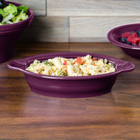 Fiesta Tableware from Steelite International HL587343 Mulberry 13 oz. Oval China Baker / Casserole Dish - 4/Case