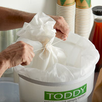 Toddy® Commercial Cold Brew Paper Filters with Strainer - 50/Pack