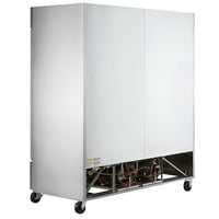 Beverage-Air HBF72HC-5 Horizon Series 75 inch Solid Door Reach-In Freezer with LED Lighting - 69 cu. ft.