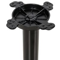 Lancaster Table & Seating 22 inch Round Black 3 inch Standard Height Column Table Base