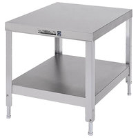 Lakeside 736 Stainless Steel Equipment Stand with Undershelf - 25 1/4 inch x 21 1/4 inch x 29 3/16 inch