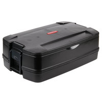 Rubbermaid FG940600BLA CaterMax Black Top Loading Insulated Food Pan Carrier