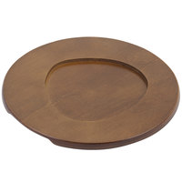 Bon Chef 85011 8 5/8 inch Round Wood Underliner