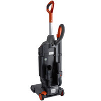 Hoover CH95413 HushTone 13+ Commercial Cordless Bagged Upright Vacuum Cleaner with Intellibelt - 409W