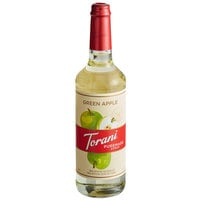 Torani 750 mL Puremade Green Apple Flavoring Syrup