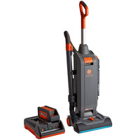 Hoover HushTone 13 inch Bagged Upright Cordless Vacuum Cleaner with Battery and Charger -1200W
