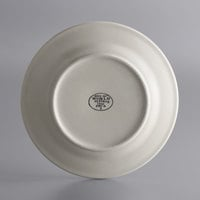 World Tableware PWC-8 Princess White 9 inch Ultima Cream White Round Rolled Edge Stoneware Plate - 24/Case
