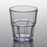 GET 9955-1-CL Bahama 5.5 oz. Clear Customizable SAN Plastic Tumbler - 12/Pack