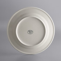 World Tableware PWC-50 Princess White 12 inch Ultima Cream White Round Rolled Edge Stoneware Plate - 12/Case