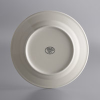 World Tableware PWC-37 Princess White 11 inch Ultima Cream White Round Rolled Edge Stoneware Plate - 12/Case