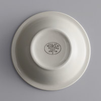 World Tableware PWC-10 Princess White 13 oz. Ultima Cream White Round Rolled Edge Stoneware Bowl - 36/Case