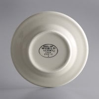 World Tableware PWC-5 Princess White 5 1/2 inch Ultima Cream White Round Rolled Edge Stoneware Plate - 36/Case