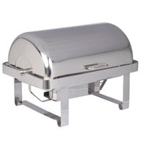 Vollrath 46350 9 Qt. Avenger Roll Top Chafer Full Size