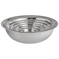 Vollrath 9 Piece Standard Weight Stainless Steel Mixing Bowl Set