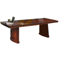 Safco SC8SCR Sorrento 8' Cherry Rectangular Conference Table