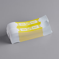 MMF Industries 1160503G12 Yellow Self-Adhesive $1000 Currency Strap - 1000/Box