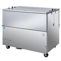 Beverage-Air SM49HC-S 49 inch 1-Sided Stainless Steel Milk Cooler