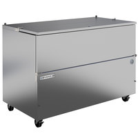 Beverage-Air SM58HC-S 58 inch 1-Sided Stainless Steel Milk Cooler