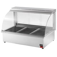 Vollrath 40732 Cayenne Portable Bain Marie Hot Display Case - 1440W