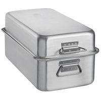 Vollrath Wear-Ever 17.75 Qt. Aluminum Double Roaster Pan - 20 inch x 11 1/8 inch x 9 1/8 inch
