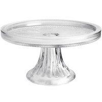 The Jay Companies American Atelier 6 11/16 inch Pedestal Glass Cake Stand