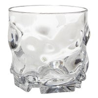 GET SW-1439-1-CL L7 9 oz. SAN Plastic Stackable Rocks / Old Fashioned Glass - 24/Case