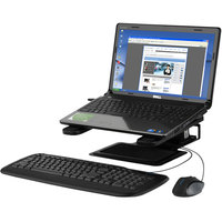 Kensington K60726WW Black Adjustable Laptop Riser