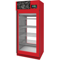 Stagionello Evo Red Merchandiser Stainless Steel Meat Curing Cabinet - 330 lb. / 150 kg, 220V, 3420W