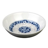 Thunder Group 1101DL Blue Dragon 1 oz. Round Melamine Sauce Dish - 60/Case