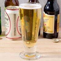 Libbey 3810 10 oz. Footed Pilsner Glass - 36/Case