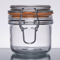 Anchor Hocking 98906 7 oz. Mini Hermes Jar - 12/Case