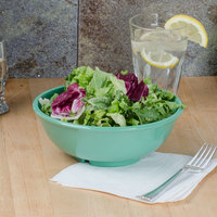 Thunder Group CR5807GR Green 32 oz. Melamine Salad Bowl - 12/Case