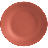 World Tableware DRI-16-CME Driftstone 115 oz. Clay Organic Melamine Coupe Serving Bowl - 6/Case